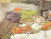 中国美术学院水彩静物欣赏033
