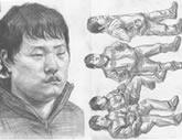 中国美术学院考生优秀素描试卷010