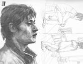 中国美术学院考生优秀素描试卷020