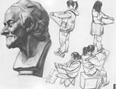 中国美术学院考生优秀素描试卷028