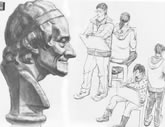 中国美术学院考生优秀素描试卷030