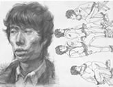 中国美术学院考生优秀素描试卷015