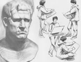 中国美术学院考生优秀素描试卷044