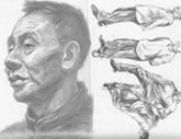 中国美术学院考生优秀素描试卷024
