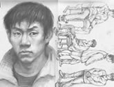 中国美术学院考生优秀素描试卷003