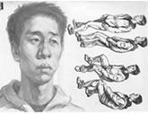中国美术学院考生优秀素描试卷014