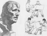 中国美术学院考生优秀素描试卷042