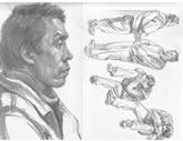 中国美术学院考生优秀素描试卷025