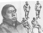 中国美术学院考生优秀素描试卷002