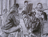 2010年中央美术学院造型艺术速写考卷01