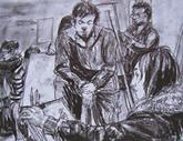 2010年中央美术学院造型艺术速写考卷12