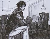 2010年中央美术学院造型艺术速写考卷15