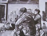 2010年中央美术学院造型艺术速写考卷16