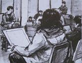 2010年中央美术学院造型艺术速写考卷02