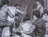 2010年中央美术学院造型艺术速写考卷10