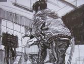 2010年中央美术学院造型艺术速写考卷07