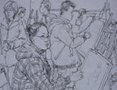 2010年中央美术学院造型艺术速写考卷06