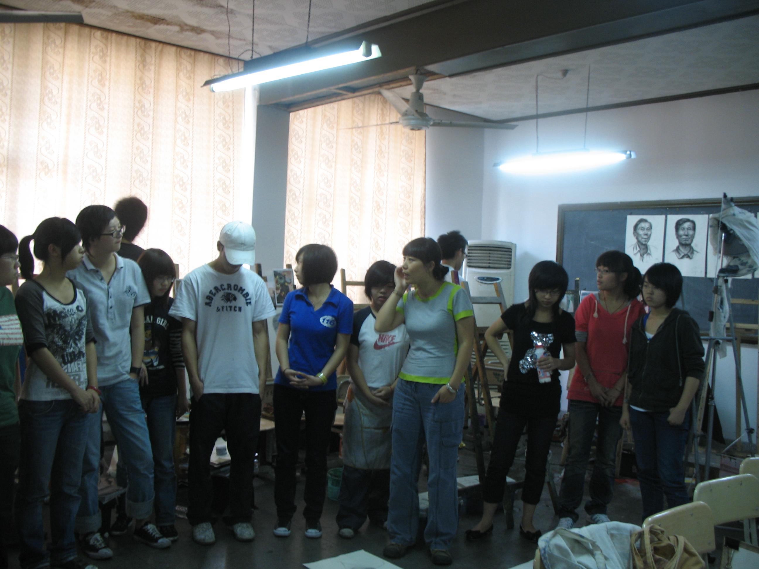 中国美院美术中心桥画室