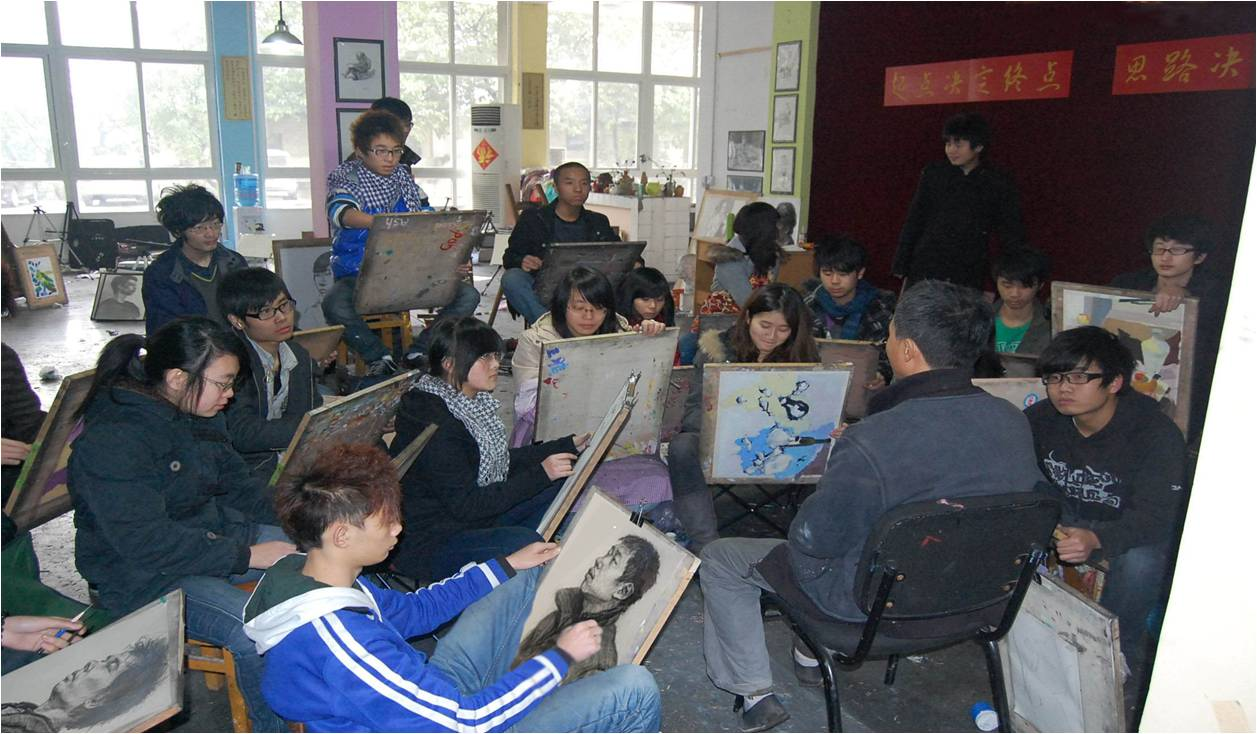 乌鲁木齐仟叶学校仟叶画室