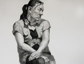 美考培训中心作品投稿素描人物