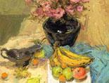 《国美视界  考前色彩教学笔记》花束以及水果静物写生