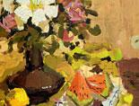 《国美视界  考前色彩教学笔记》花瓶花朵水果小刀的色彩写生