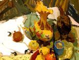 《国美视界  考前色彩教学笔记》陶罐蔬菜菜篮的静物写生