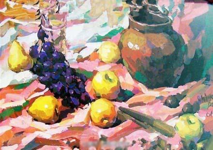 2006年浙江省美术联考色彩优秀高分试卷