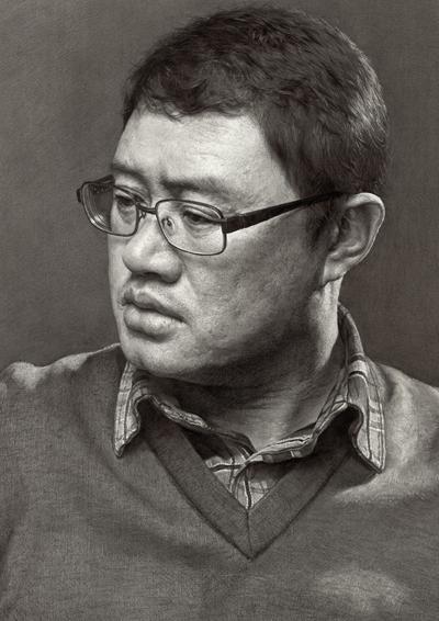 刘斌素描-超写实素描作品专辑