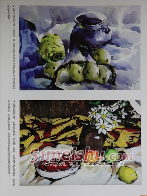 【上海视觉艺术学院学费】上海视觉艺术学院往年校考考题考生答卷(色彩)