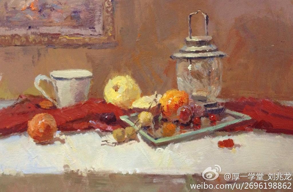 杭州画室厚一学堂刘兆龙色彩