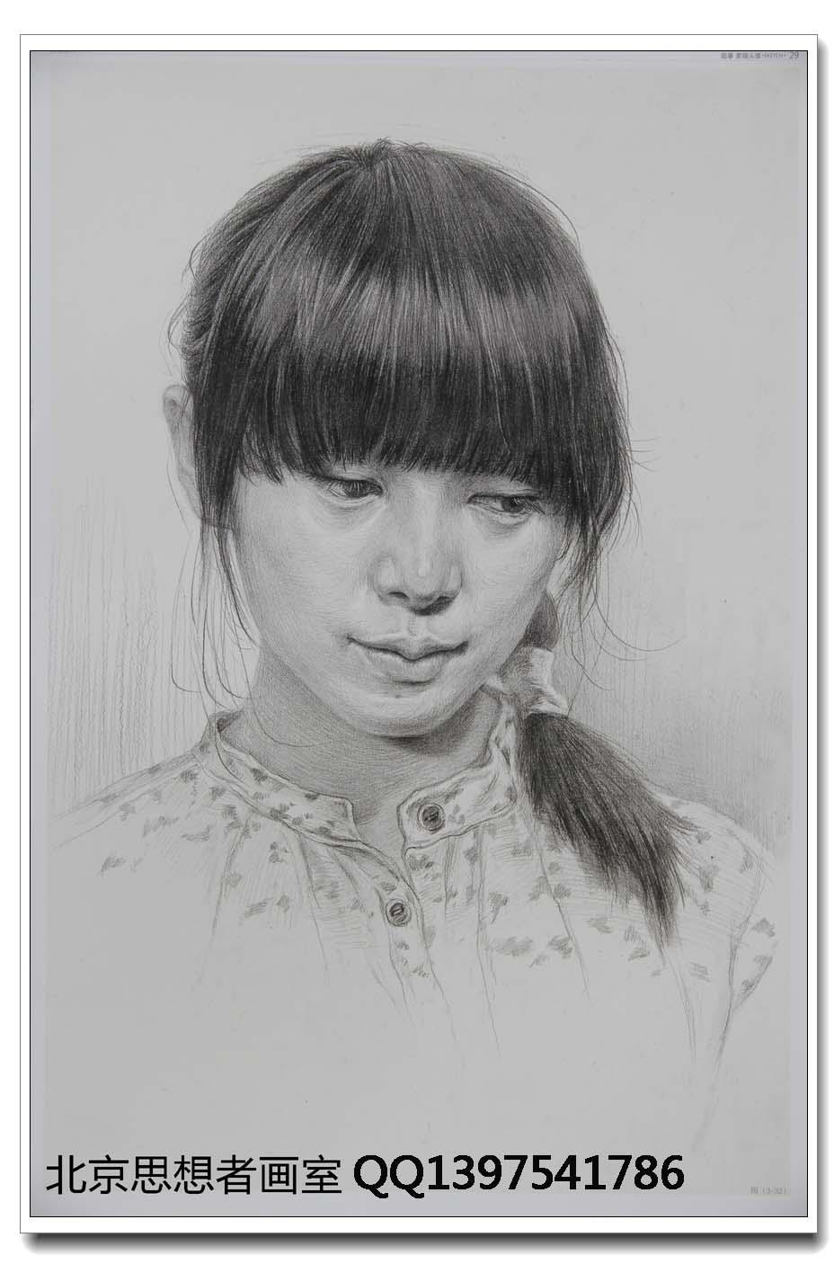 北京思想者画室素描作品3_画室作品投稿 - 51美术高考