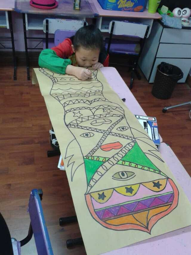 哈尔滨儿童画室儿童绘画招生中