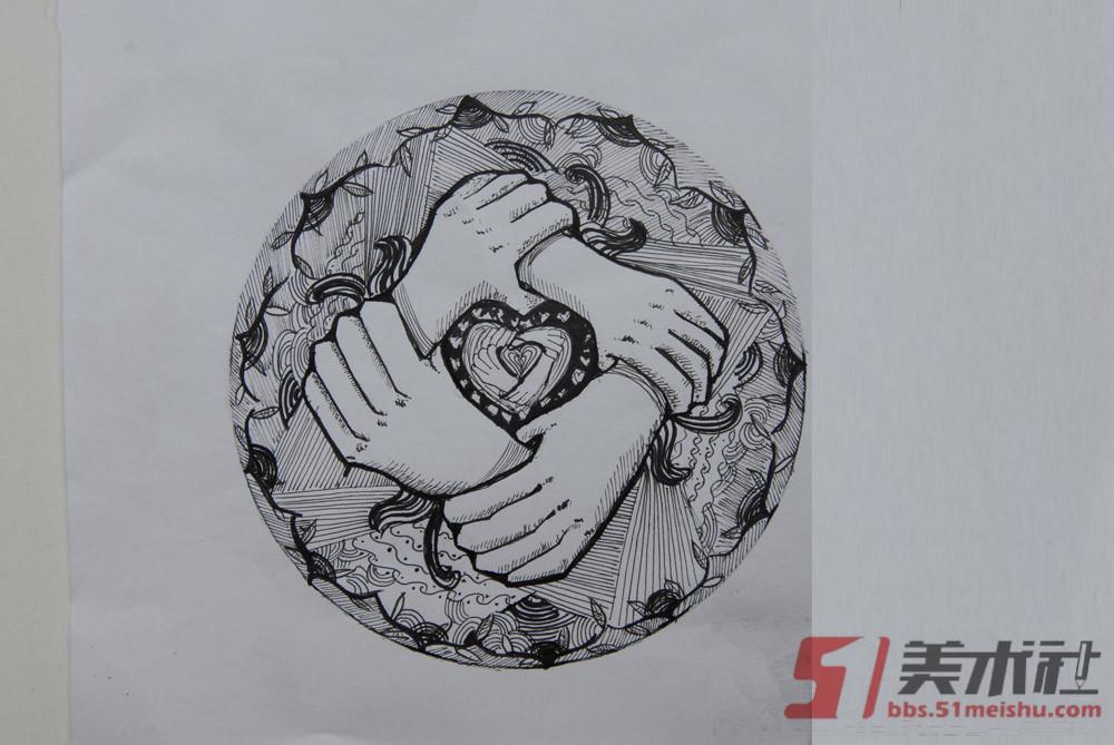 江南大学2009年【设计】高分试卷(6p)[图6P]