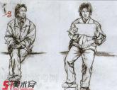 中国美术学院1998年-2001年【速写】高分试卷(7p)