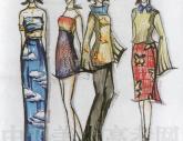 广州美术学院1998年-2001年【服装设计】高分试卷(3p)