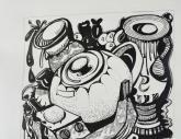 四川美术学院【黑白装饰画】高分试卷(31p)