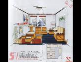 西安美院1998年-2001年【建筑设计】高分试卷(2p)