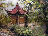 中国美术学院2011年【色彩风景】高分试卷(34p)