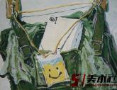鲁迅美术学院2008年【色彩静物】高分试卷(43p)
