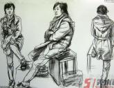 中国美术学院2011年【速写】高分试卷(64p)
