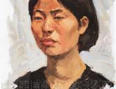 中国美术学院2002年【色彩头像】高分试卷(3p)