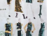 湖北美院1998年-2001年【服装设计】高分试卷(1p)