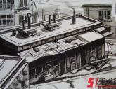 中央美术学院2009年【素描/建筑】高分试卷(9p)