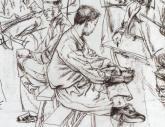 西安美院1998年-2001年【速写】高分试卷(8p)