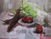 鲁迅美术学院2011年【色彩静物】高分试卷(34P)