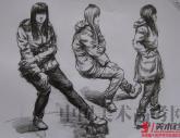 中国美术学院2012年【速写】高分秀试卷(69P)