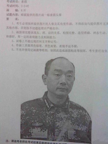 2015年重庆市美术联考考题/统考试题