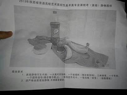 2015年陕西美术联考/统考考试题目