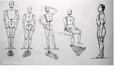 服裝設計畫技法人體姿勢